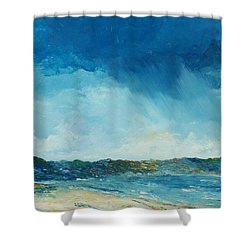 Rain A Comin Shower Curtain