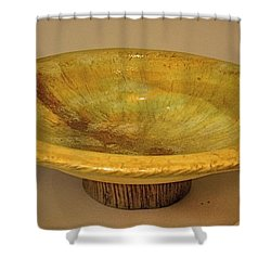 Rain Bowl Shower Curtain
