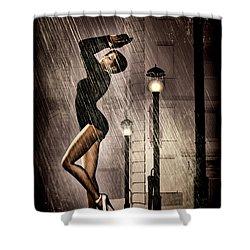 Rain Dance Shower Curtain by Bob Orsillo