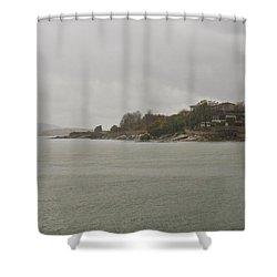 Rain Of Tartan Colours Shower Curtain