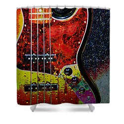 Rain Over Me Shower Curtain by Jan Amiss Photography