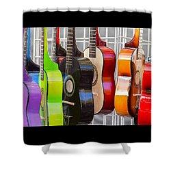 Rainbow Shower Curtain by Caitlyn  Grasso