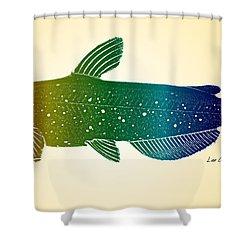 Rainbow Cat Shower Curtain