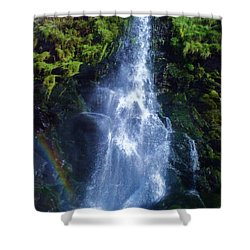 Shower Curtain featuring the photograph Rainbow Falls by John Williams