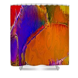Rainbow In A Bottle Shower Curtain by Omaste Witkowski