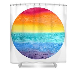 Rainbow Landscape  Shower Curtain