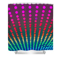 Shower Curtain featuring the photograph Rainbow Of Lights by Jean Haynes