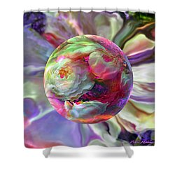 Rainbow Of Roses Shower Curtain