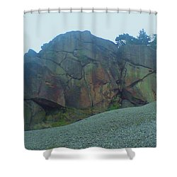Shower Curtain featuring the photograph Rainbow Rock by John Williams