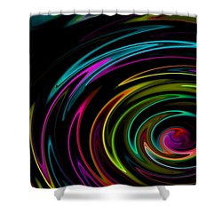 Rainbow Whirlpool Shower Curtain
