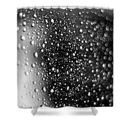 Shower Curtain featuring the photograph Raindrops by Viviana  Nadowski