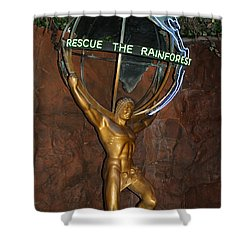 Shower Curtain featuring the photograph Rainforest Appeal by David Nicholls