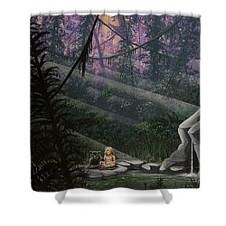 Rainforest Mysteries Shower Curtain