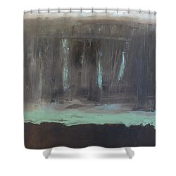 Rainy Day Shower Curtain by Claudia Goodell