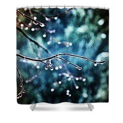 Rainy Day Shower Curtain by Marianna Mills