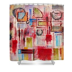 Rainy Panes Shower Curtain by Jason Williamson