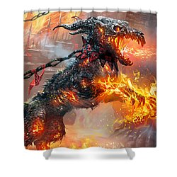 Rakdos Ragemutt Shower Curtain