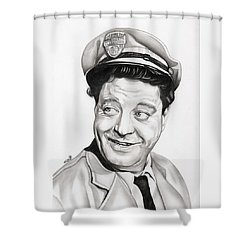Ralph Kramden Shower Curtain by Fred Larucci