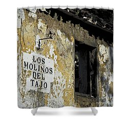 Ramshackled Los Molinos Shower Curtain by Heiko Koehrer-Wagner