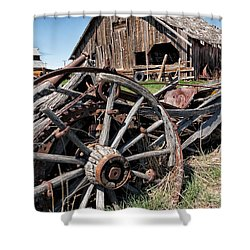 Ranch Wagon Shower Curtain