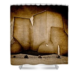 Ranchos Church Xx Shower Curtain