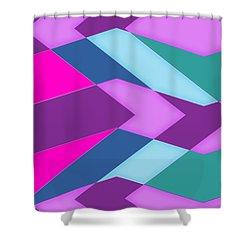 Random Shower Curtain by Bill Owen