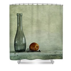 Random Still Life Shower Curtain by Priska Wettstein