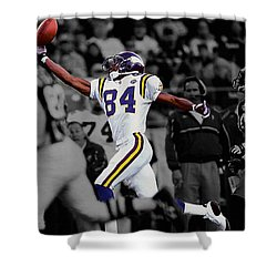 Randy Moss Shower Curtain