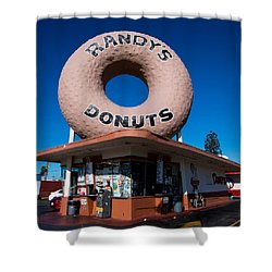 Randy's Donuts Shower Curtain