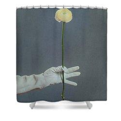 Ranunculus Shower Curtain by Joana Kruse