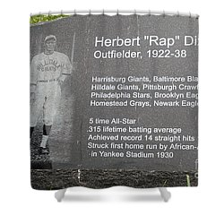 Rap Dixon Shower Curtain