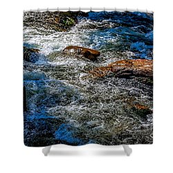 Rapids On The Gore Shower Curtain