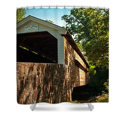 Rapps Covered Bridge Shower Curtain