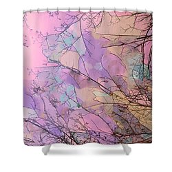 Rapture Shower Curtain by Kathy Bassett