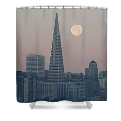 Rare Alignment Shower Curtain
