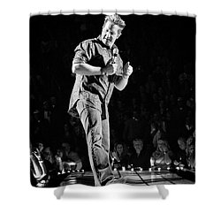 Rascal Flatts 5030 Shower Curtain by Timothy Bischoff