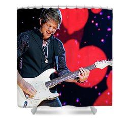 Rascal Flatts 5180 Shower Curtain by Timothy Bischoff