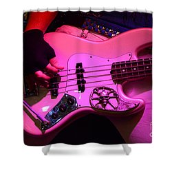 Raunchy Guitar Shower Curtain by Bob Christopher