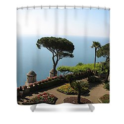 Shower Curtain featuring the photograph Ravello by Carla Parris