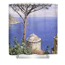 Ravello Shower Curtain by Peder Monsted