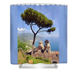 Ravello Pine Shower Curtain