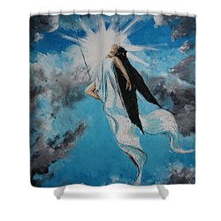 Ravesencion Shower Curtain