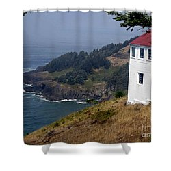 Shower Curtain featuring the photograph Raw Powerful Beauty by Fiona Kennard