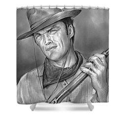 Rawhide Shower Curtain by Greg Joens