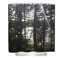 Ray O Light Shower Curtain by Melissa McCrann