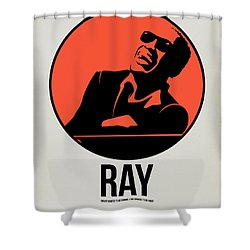 Ray Poster 1 Shower Curtain