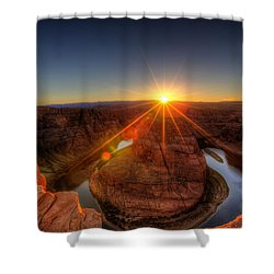Rays Of Sunshine Shower Curtain by Dave Files