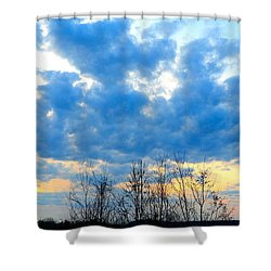 Reach Out And Touch The Sky Shower Curtain