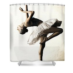 Reaching For Perfect Grace Shower Curtain by Richard Young