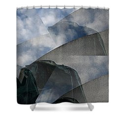 Reaching Heaven Shower Curtain
